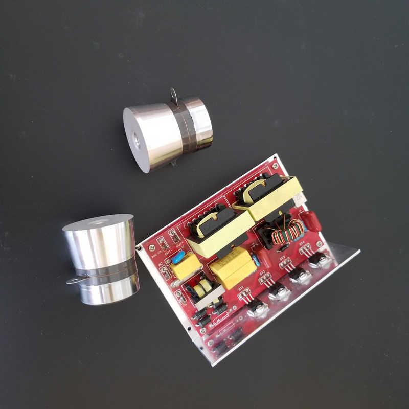 120 вт ультразвуковой небольшой PCB 110 V/28 khz, цена включая соответствующие преобразователи для ультразвукового пылесоса комплект