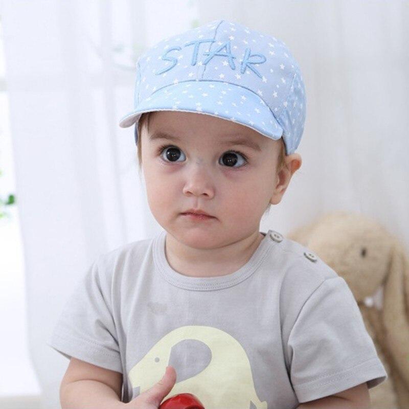 2018 New Baby Caps Unisex Girls Boys Baseball Hats Beanie Cartoon Summer Sun Hat Newborn 100% Cotton Visor photography