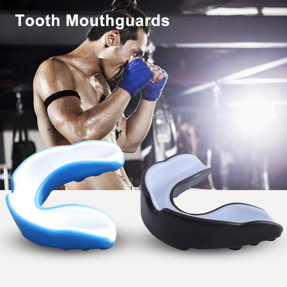 Boxing MMA Sparring Muay Thai Taekwondo Mouth Protector Guard Mouthguard NEW
