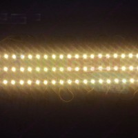 40pcs Waterproof DC12V Super Bright Warm White 7512 5050 3SMD LED Module Strings Channel Sing Letter