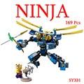 Caliente Ninjagoeinglys. Jay Electro mech robot ladrillos bloque de construcción ninja serpiente Krait com. legoeinglys. juguetes para los niños regalos