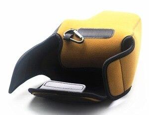 Image 5 - Macchina Fotografica portatile Del Sacchetto del Neoprene Copertura Molle Della Cassa per Nikon P1000 Fotocamere Digitali
