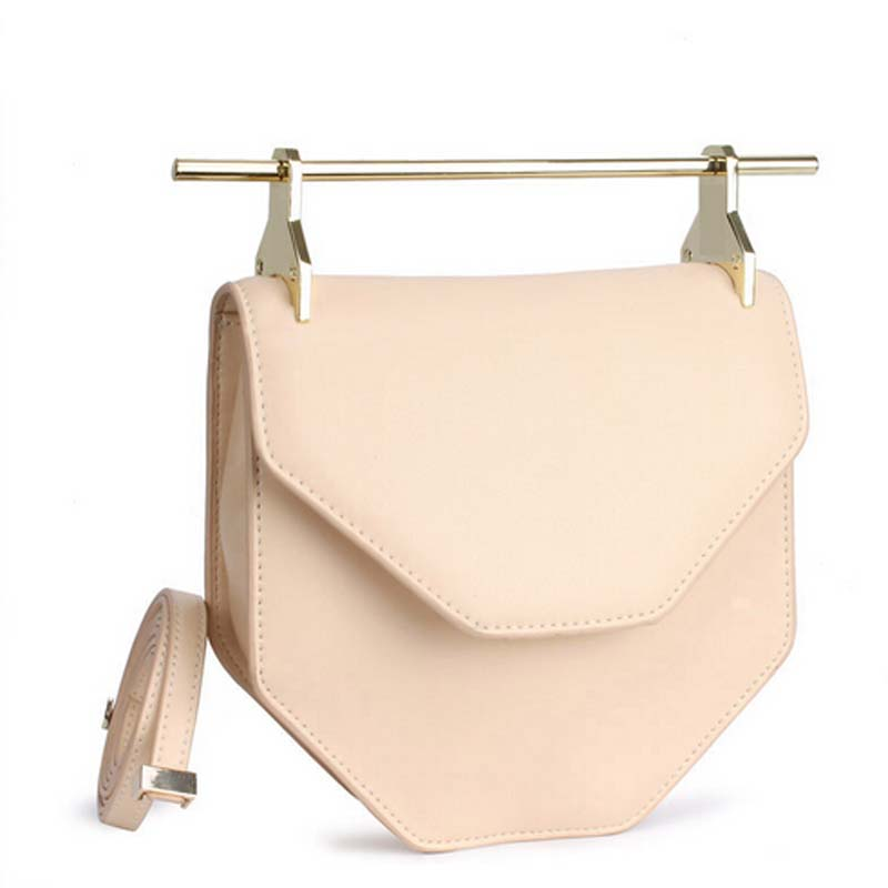 6b8d6465ae 2015 New Famous Brand Metal Rod M2malletier Bag Personality Europe Genuine  Leather Shoulder Clutch HandBag with Single Handle-in Shoulder Bags from  Luggage ...