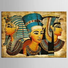 1 panel Egyptian Contemporary Abstract Decorative Painting On Canvas Wall Art Picture For Living Room(China)