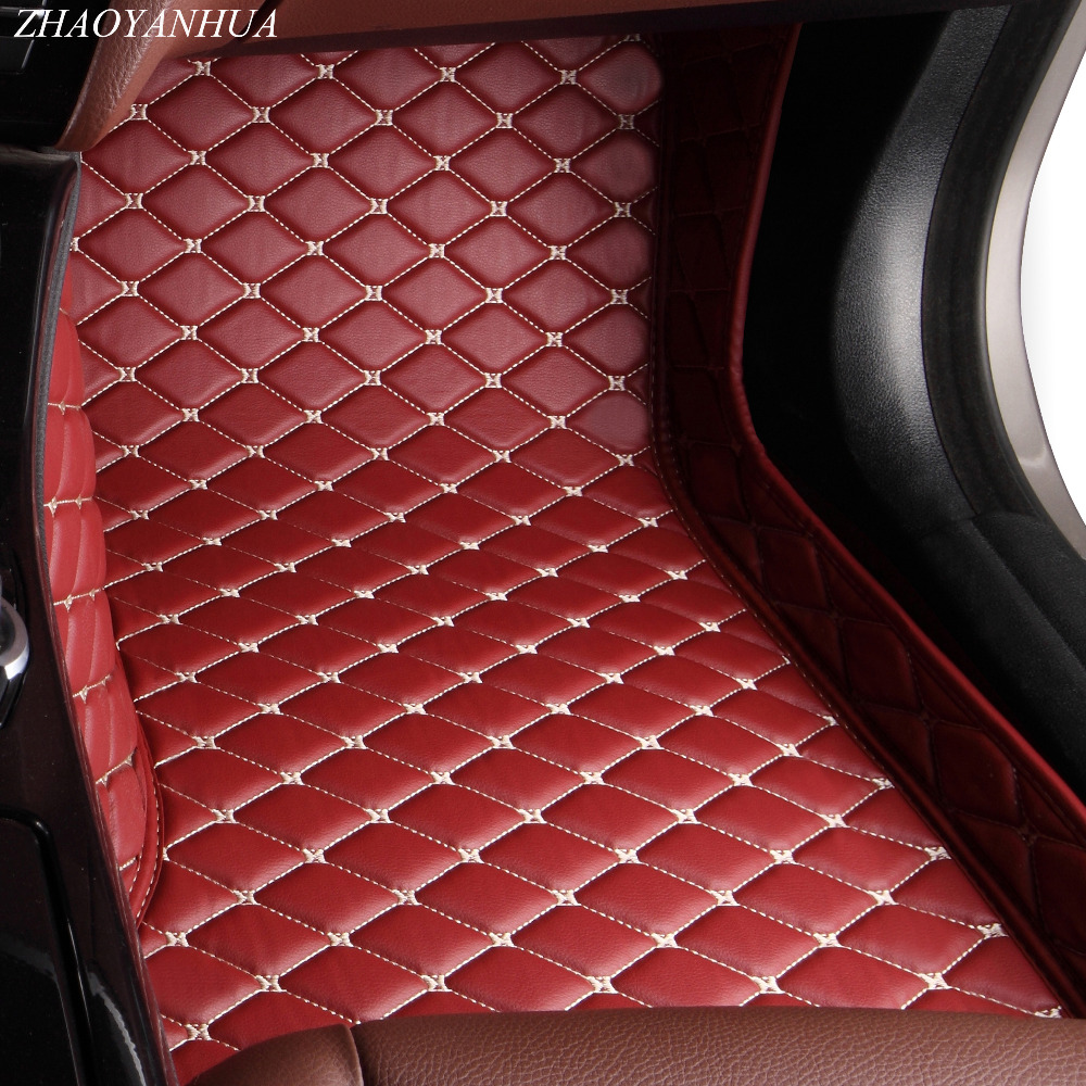 ZHAOYANHUA Car floor mats for Nissan Sentra Sylphy Murano Rouge X-trail Altima Versa Tida 5D car styling rugs carpet linersZHAOYANHUA Car floor mats for Nissan Sentra Sylphy Murano Rouge X-trail Altima Versa Tida 5D car styling rugs carpet liners