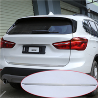 For BMW X1 f48 2016 2017 304 Stainless Steel Rear Tailgate Trim Car Accessories