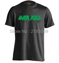 The Overkill Mens & Womens Summer Cotton Short Sleeve T shirt Design T Shirt