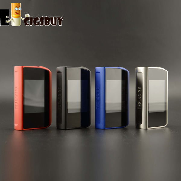 Original Tesla Touch 150w TC 150 Box Mod With Touch Screen And 12 Volts Maximum Output