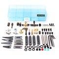 OCOOCOO PJB002 Specialty Die-carve Tattoo Accessory Kit 52 pcs/set Professional Metal Tattoo Machine Parts Supply