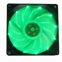 30Pcs Gdstime Green Light 90mm DC 12V 3P PC Case Comptuer LED Cooling Fan