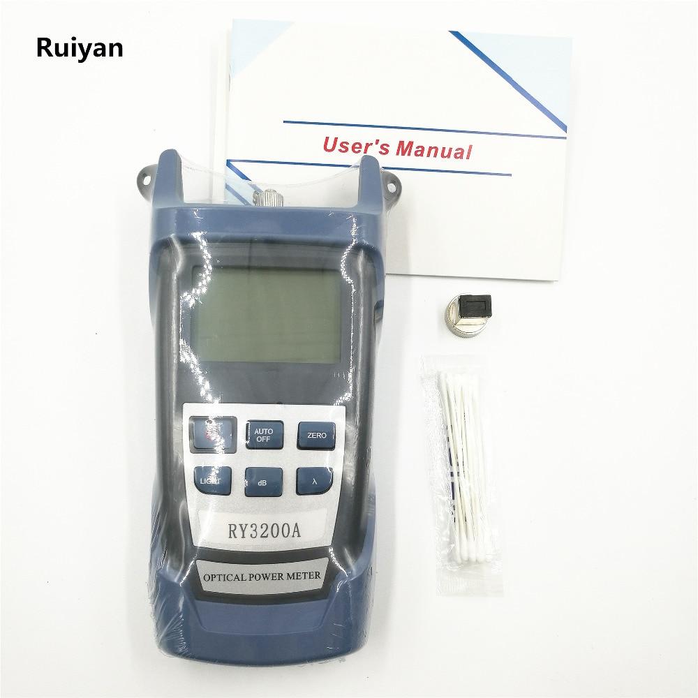 Оптички мјерач влакана Фибер Оптиц РИ3200А Ручица Оптички мјерач снаге -70 ~ + 10 дБм 6 таласна дужина