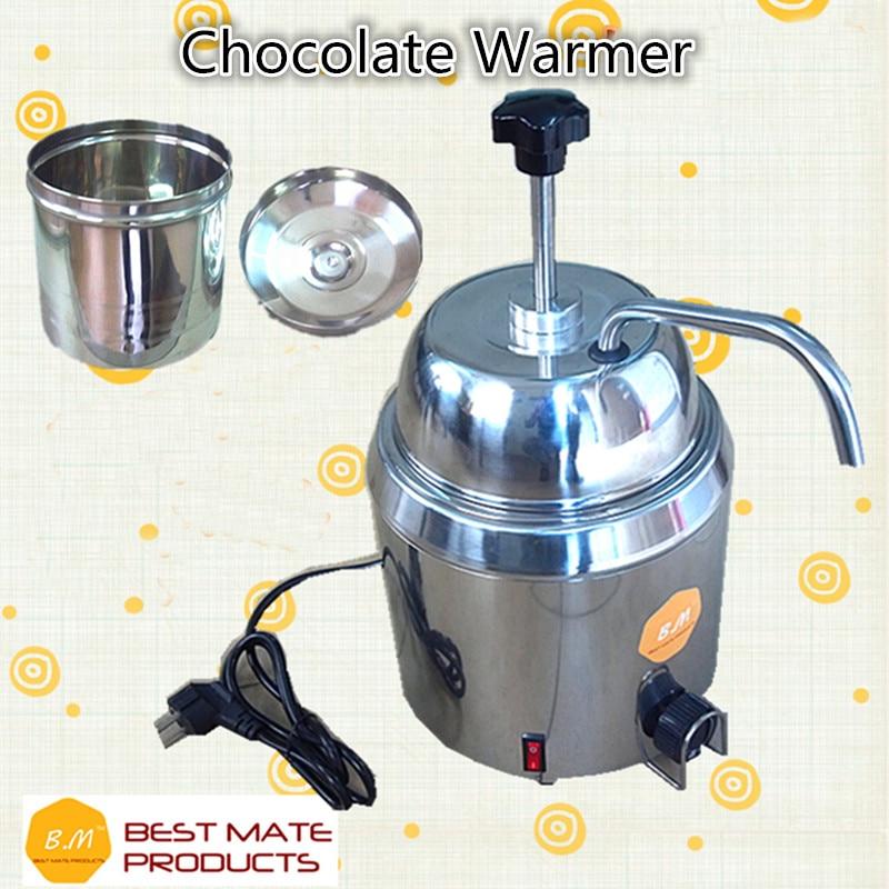 110V Or 220V Hot Fudge Nacho Cheese Chocolate Dispenser Warmer