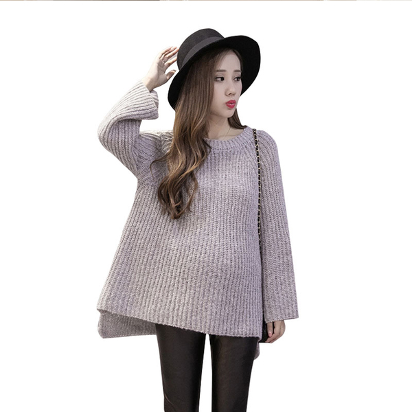 Winter Maternity Pullover Sweater Fashion Loose Pregnancy Sweaters for Pregnant Women Knitted Clothes Autumn Maternity Outwear fashion cotton padded maternity shirts autumn winter fashion thick knitted long sleeve pregnancy tops loose maternity clothes