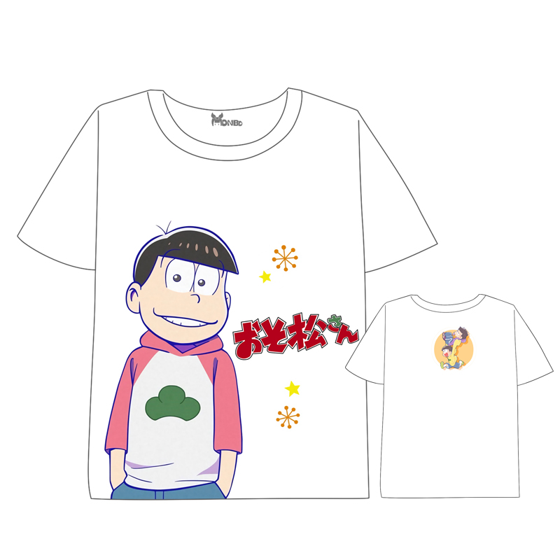 Hot Anime Osomatsu san Mr Osomatsu san T shirt Men Women Short Sleeve Summer dress cartoon Tops Unisex Cosplay t shirt in T Shirts from Men 39 s Clothing