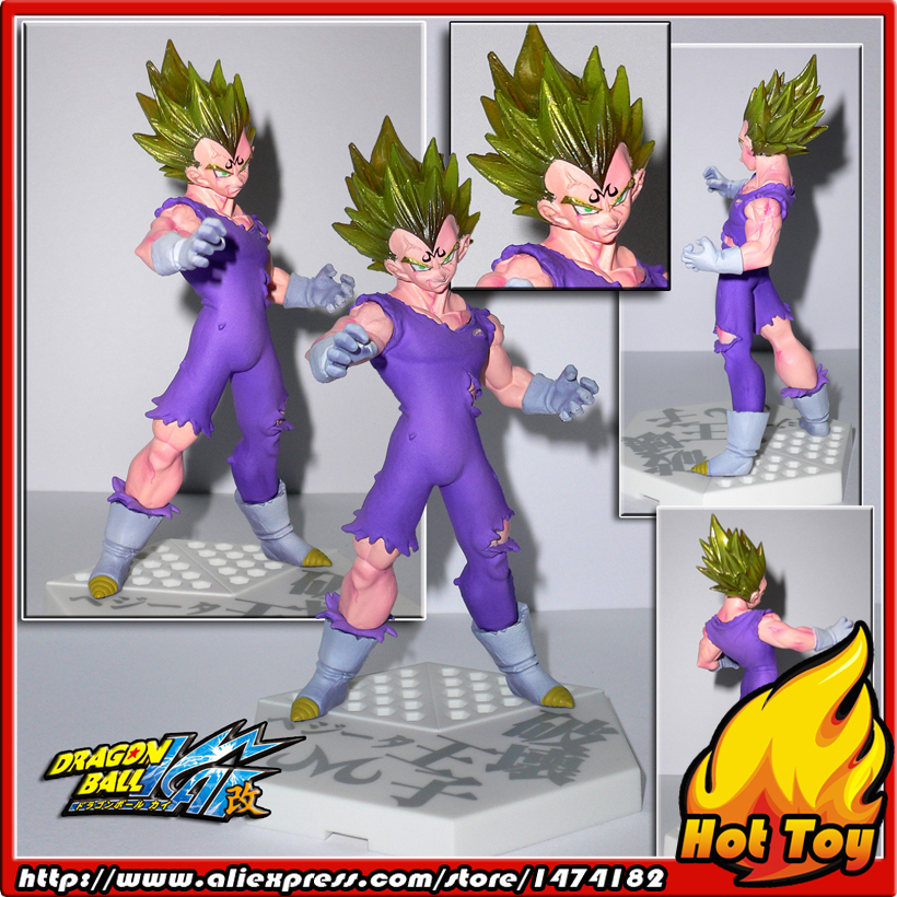 100% Original BANDAI Gashapon PVC Toy Figure HBG Part 1 - Majin Vegeta Super Saiyan from Japan Anime Dragon Ball Z купить