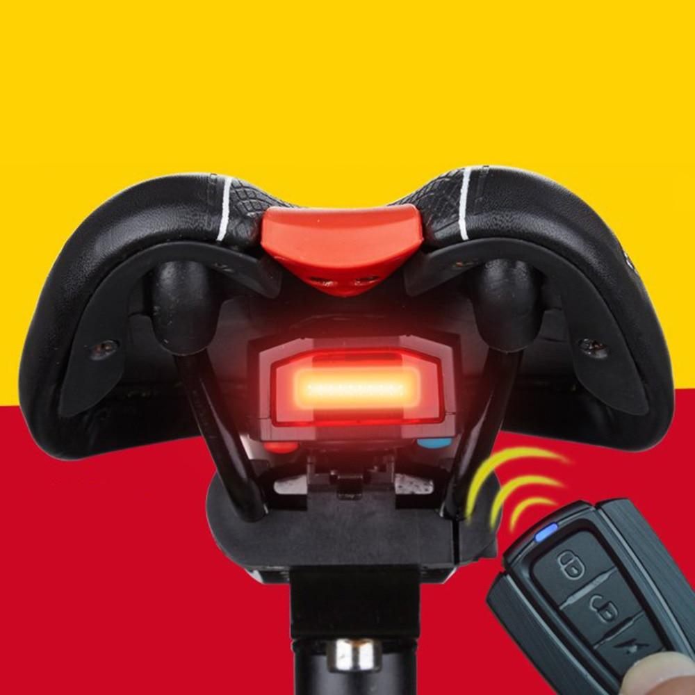 Цена за КОЛЕСА ДО A3/A6 Смарт Многофункциональный Велосипедов Сигнальные Лампы Велосипед Задние Фонари Сигнализация, USB Зарядки Безопасности Защиты