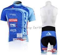 3D Silicone 2010 FUJI Team Cycling Jersey And Bib Shorts Short Sleeve Jerseys Pants Bike Bicycle