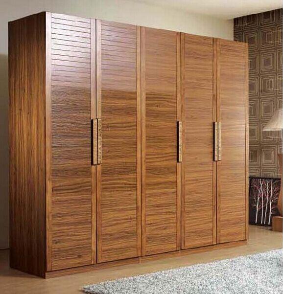 moderne chinois combinaison de bois massif armoire penderie porte deux trois quatre cinq six. Black Bedroom Furniture Sets. Home Design Ideas