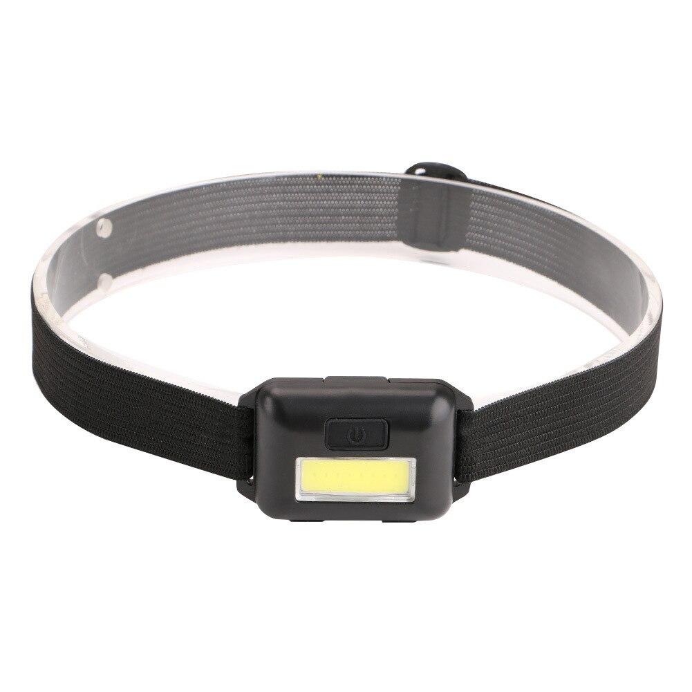 Safe COB Waterproof Portable Super Bright Running Mini Night Riding Outdoor Headlamp
