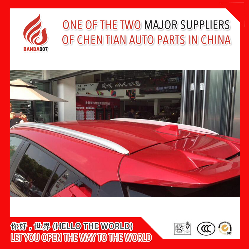 High quality Aluminium alloy sticker install side rail bar roof rack for C HR CHR 2017