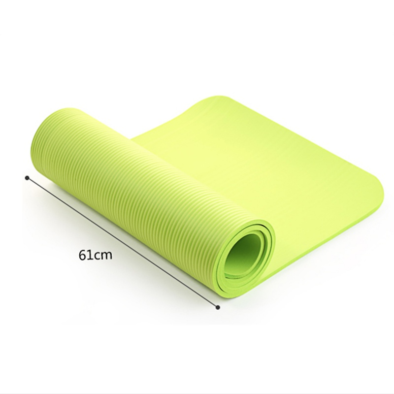 Yoga Mat Exercise Pad Thick Non Slip Folding Gym Fitness