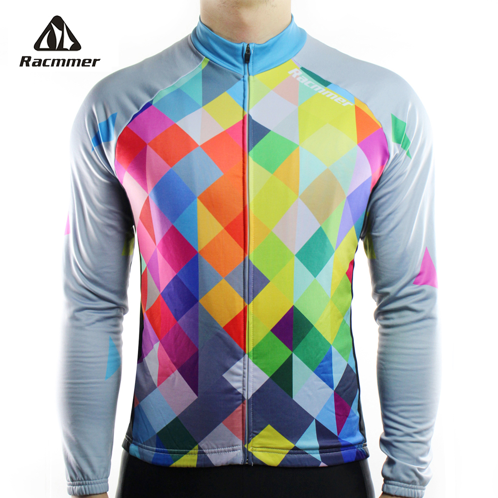 Racmmer 2019 Cycling Jersey Long Sleeve Mtb Clothing Bike Wear Clothes Kit Bicycle Maillot Roupa Ropa De Ciclismo Hombre #CX-19Racmmer 2019 Cycling Jersey Long Sleeve Mtb Clothing Bike Wear Clothes Kit Bicycle Maillot Roupa Ropa De Ciclismo Hombre #CX-19
