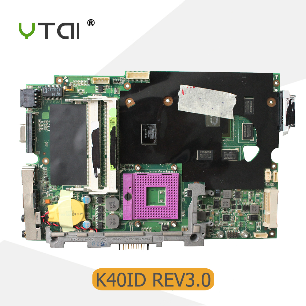 YTAI K40ID REV3.0 14 inch for ASUS K40I K40IE X4D X8Al K40ID laptop motherboard 1GB REV3.0 8 Memory video card mainboard Tested musical instruments yanagisawa t wo37 tenor saxophone bb tone nickel silver plated tube gold key sax with case mouthpiece gloves