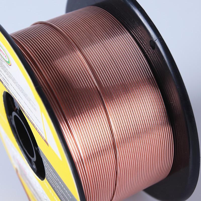 MIG Fil De Soudure Solide 70S-6 ER70S-6 ER50-6 0.6/0.8/0.9/1.0/1.2mm. 023/. 03/. 035/. 04/. 045 emballage, CO2 Ar De Soudage Au Gaz