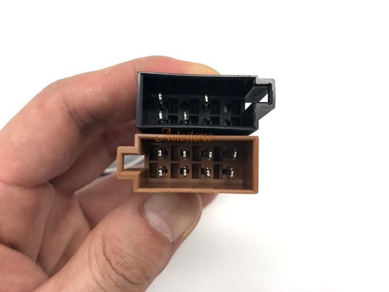 Auto-Radio Adaptador Cable para enchufe Kenwood DIN ISO KDC KRC KRC-W DPX DPX-MP
