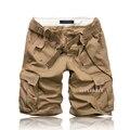 Новое поступление мода брюки-карго для мужчин свободного покроя мужской мульти-карман оснастки 4 цвета