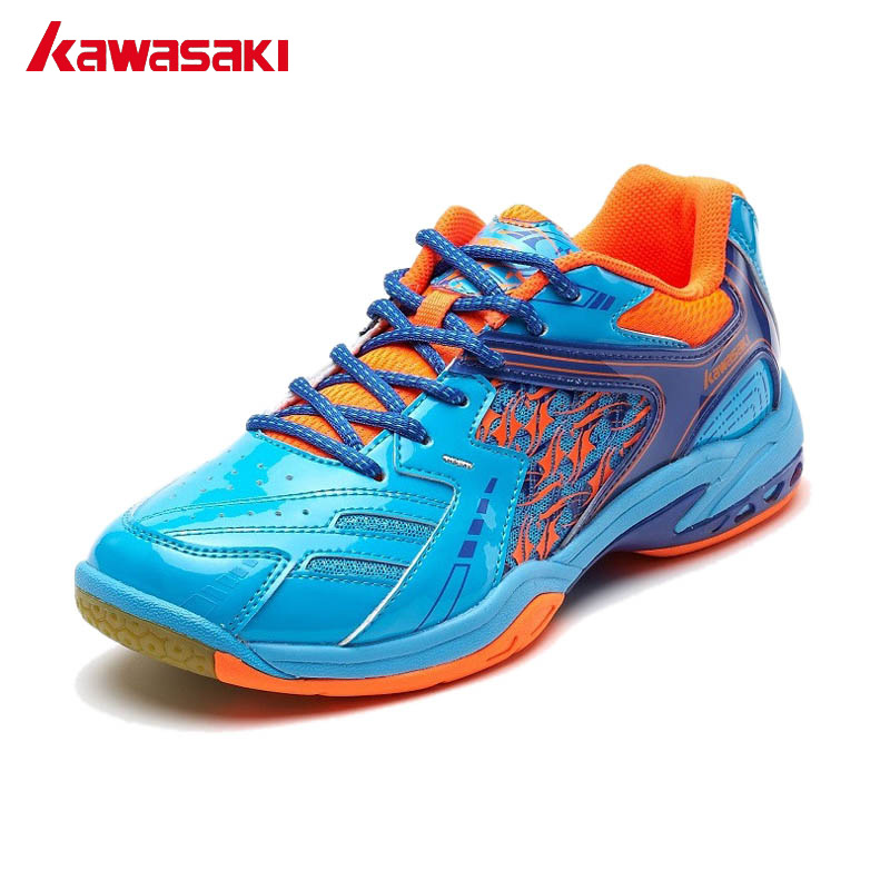 Kawasaki Brands Professional Breathable Badminton Shoes For Men Woman Anti-Slippery PVC Floor Indoor Sport Sneakers K-335 professional brand kawasaki badminton shoes 2017 sport sneakers for men women anti slippery pvc floor sports shoe k 065 k 066