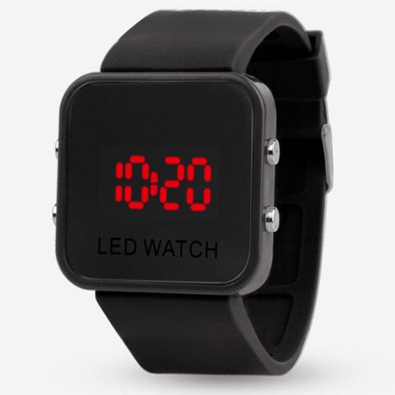 Luxury Brand LED Digital Men Watch Electronic Sport Unisex Watches Fashion Mirror Clock Women Relojes Para Hombre Digitales