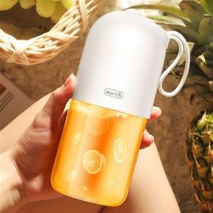 Image 5 - Deerma Juicer 300 Ml Draagbare Elektrische Blender Multifunctionele Draadloze Mini Usb Oplaadbare Sap Cup Fruit Mixer Voor Reizen