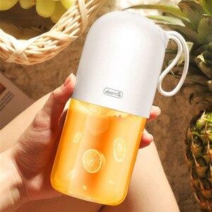 Image 5 - Deerma Juicer 300ml przenośne elektryczne Blender uniwersalny bezprzewodowy Mini USB akumulator kubek do soku owocowego mikser do podróży
