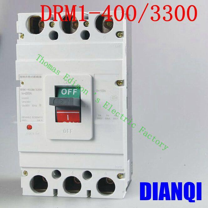 CM1-400/3300 MCCB 200A 250A 315A 350A 400A molded case circuit breaker CM1-400 Moulded Case Circuit Breaker 350a 3p mccb 35ka moulded case circuit breaker suits for south africa
