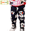 Winter Retail Baby Boy Clothes Pant 2016 Cartoon Animal Pattern Boy Baby Clothes Pant Winter Warm Toddler Leisure Pants For Girl