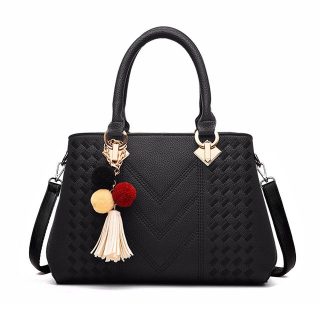 698a6b044b Women Handbag Brand Ladies Large Capacity Totes Thread Tassel High Quality  Flap Work Purse Women Crossbody Shoulder Bag SS7071