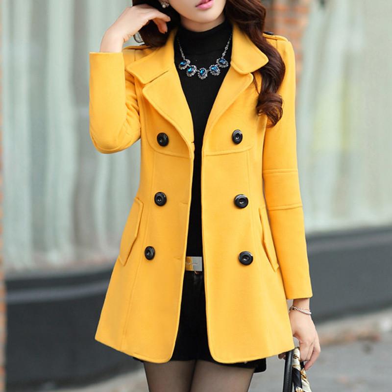 women blended coat WWN717 (4)