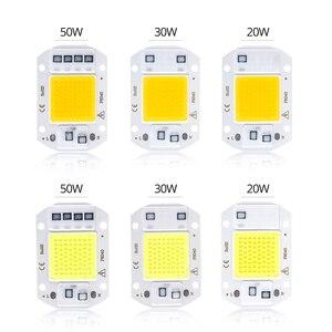 Image 5 - スマート ic と led cob ランプチップカバー 20 ワット 30 ワット 50 ワットハイパワー led ダイオードマトリックスアレイ led レンズリフレクター 110 v/220 v