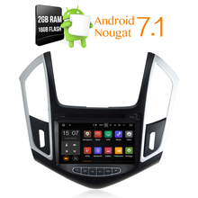 Android 7.1.1 Car dvd Stereo Headunit For Chevrolet Cruze 2014 Mulitimedia Auto Radio Stereo GPS Navi  with Audio Video 2G RAM