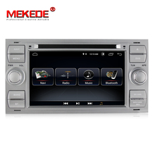 free shipping 1024×600 HD Android 8.0 7Inch 2din Car DVD Player For C-Max Connect Fiesta Fusion Galaxy Kuga Mondeo S-Max Focus
