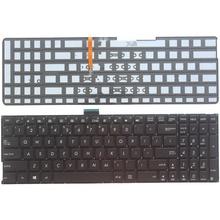 Hoa Kỳ Bàn Phím Cho ASUS K501 K501U K501UB K501UQ K501UW K501UX K501L K501LB K501LX A501L A501LB A501LX Laptop Có Đèn Nền