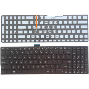 US Keyboard for ASUS K501 K501U K501UB K501UQ K501UW K501UX K501L K501LB K501LX A501L A501LB A501LX laptop With backlight(China)