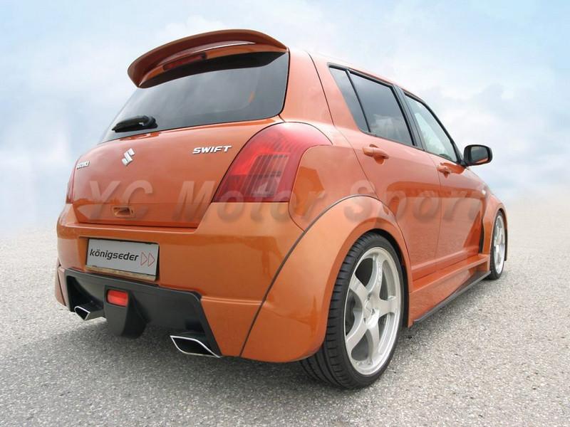 2004-2010 Suzuki SWIFT Königseder Style Wheel Flare Arch CF (2)