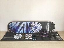 Complete Element Skateboard Set Pro Deck Truck Wheels & Bearings for Skateboarding Plus Riser Pad Hardware Set & Installing Tool