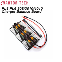 Cellpro PL8 PL6 308/3010/4010 Charger Balance Board 8s Charge Plate Charge 6 Sets of Batteries Free Shipping