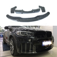 For X5 Carbon Fiber Bodykits Front Rear Lip Diffuser Splitters Spoiler For BMW X5 F15 M Tech M Sport 2014 2018 Bumper Decoration