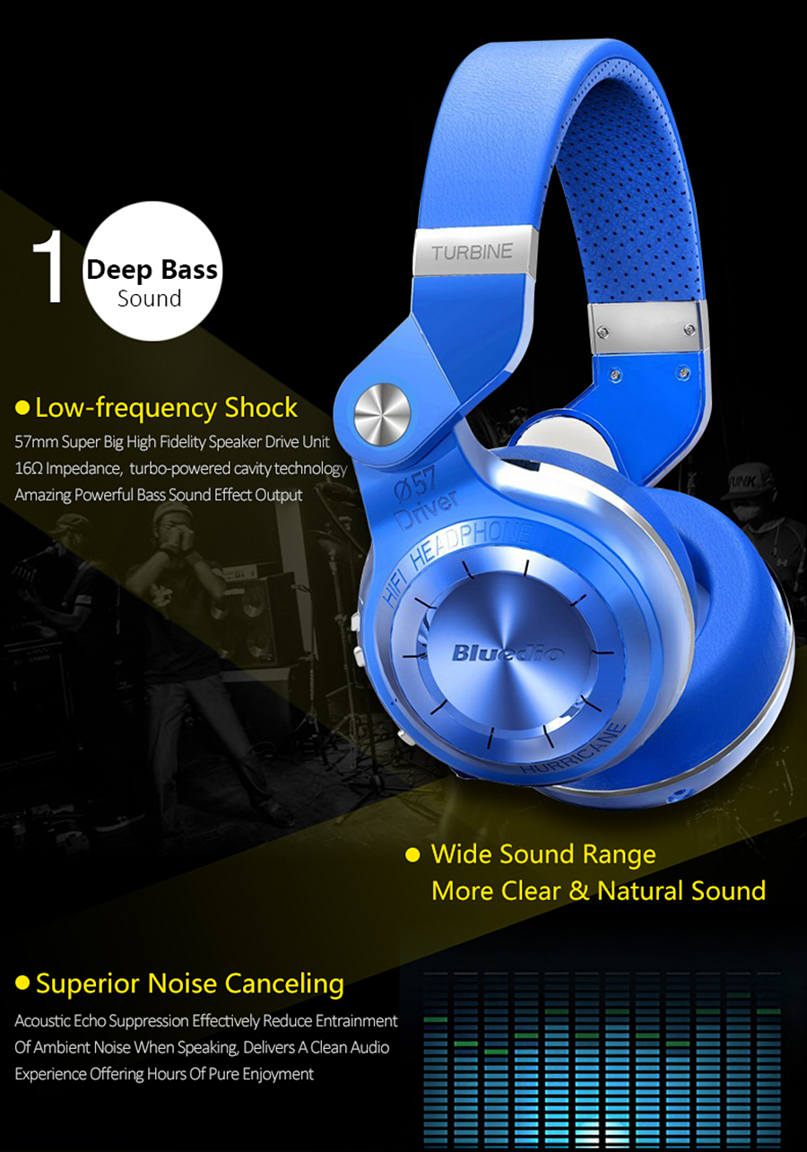 Buy Tech Expert Bluedio T2+ Powerful Bass Stereo Bluetooth