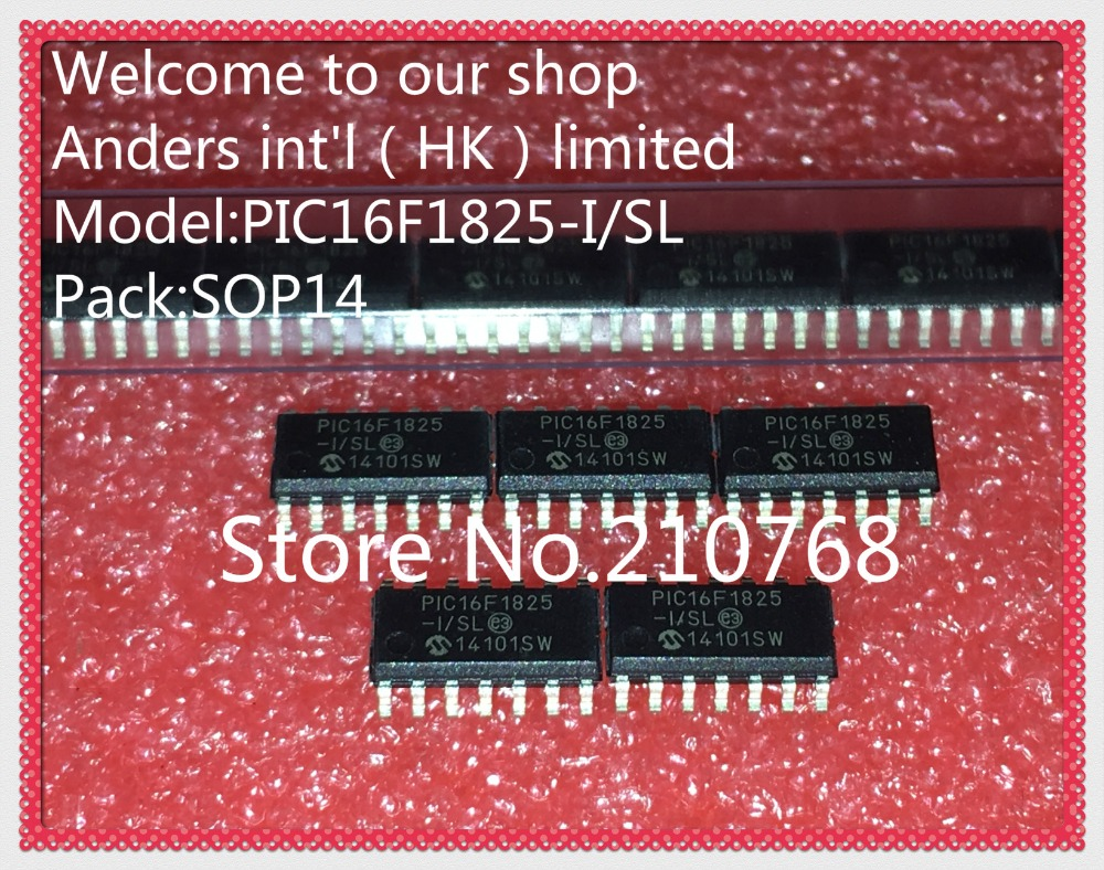 100% new original       PIC16F1825 I/SL       PIC16F1825ISL          PIC16F1825          SOP14-in Integrated Circuits from Electronic Components & Supplies    1