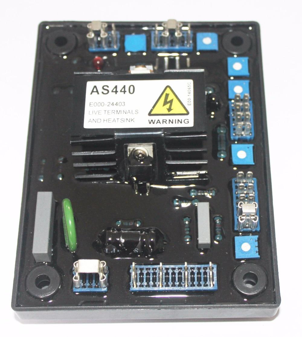 generator automatic voltage regulator AVR AS440 high quality generator automatic voltage regulator avr as440